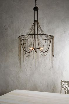 Slide View: 2: Rose Compass Chandelier