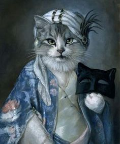 artist melinda copper | Les chats de Melinda Copper - 1