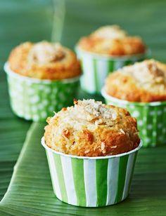 Banana and coconut muffins | Sainsbury's Magazine