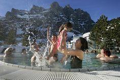 Svizzera, Vallese. Leukerbad, I vapori nella neve. http://www.familygo.eu/viaggiare_con_i_bambini/svizzera/leukerbad-vapori-nella-neve.html