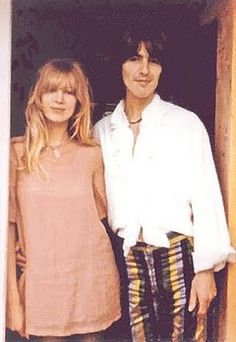 Pattie + George at Kinfauns