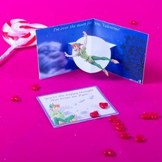 Peter Pan Valentine's Day Pop-Up Card from @Spoonful