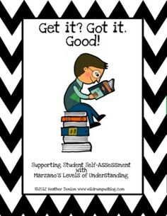 Student Self-Assessment Pack- $4.50 from TPT. I would suggest to use with upper elementary. This comes with visuals for students to track and understand expectations. Students are able to self assess reading assignments independently.