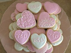 Bridal Shower Royal Icing Sugar Cookies By @cookiesbykatewi #wedding #love #quilted #lace #cookiedecoration