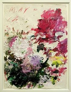 Art in the Abstract. modern painting by Cy Twombly Art Floral, Contemporary Abstract Art, Modern Art, Cy Twombly Paintings, Ouvrages D'art, Art Et Illustration, Art Moderne, Art Design, Painting & Drawing