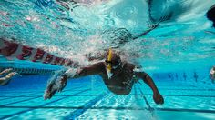 """I'm doing it. I. Am. Swimming!"" 