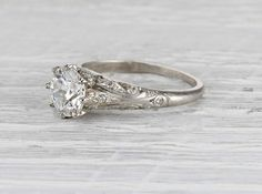 1.39 Carat Edwardian Engagement Ring