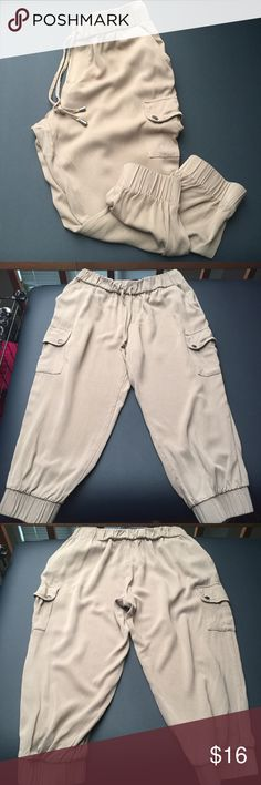 F21 Joggers In great condition, worn once. Loose light weight fit. Easy to dress up or down. Forever 21 Pants Track Pants & Joggers