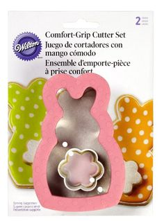 Bunny with Mini Flower Cookie Cutter
