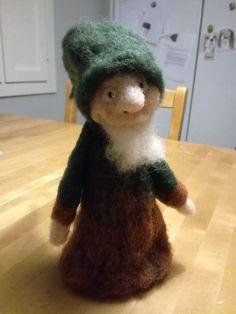 Huovutettu metsätonttu, jonka tein ystävälle joululahjaksi. Teddy Bear, Toys, Animals, Activity Toys, Animales, Animaux, Clearance Toys, Teddy Bears, Animal