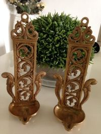Beautiful Brass Jaali Lamps /Candle Stands ( 1 piece)
