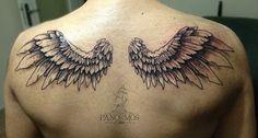 Wings #tattoo #tattoos #tattoosofinstagram #model #tattoomodel #tattoolife #tattooed #black #ink #inked #design #tattoodesign #work #panormostattoo #follow #f4f #followme #followforfollow #follow4follow #teamfollowback #followher