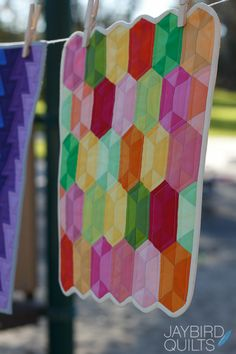 Mini Disco Quilt pattern by Jaybird Quilts