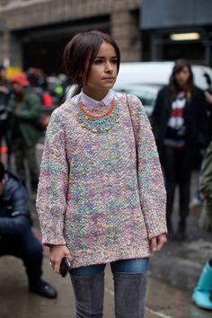 Street Style Fall 2013: New York Fashion Week