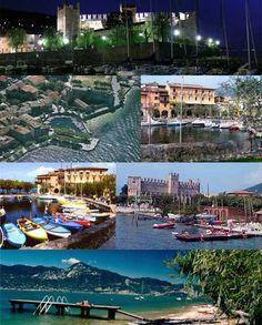 Torri del Benaco Lago di Garda  Italia
