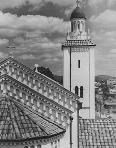 View of the tower and dome on the Holy Trinity Church at Woolloongabba, 1938 by State Library of Queensland, Australia, via Flickr