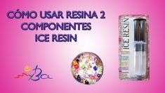 Ice Resin, cómo usar resina transparente joyería dos componentes