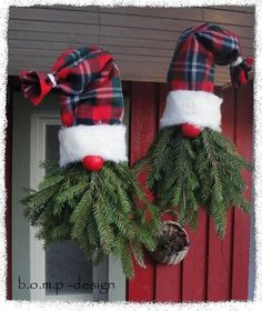 Ways To Repurpose An Old Christmas Tree 3 Ways To Repurpose An. Ways To Repurpose An Old Christmas Tree 3 Ways To Repurpose An. Christmas Porch, Christmas Gnome, Outdoor Christmas Decorations, Rustic Christmas, Christmas Projects, Winter Christmas, Christmas Wreaths, Christmas Ornaments, Christmas Tree Outside