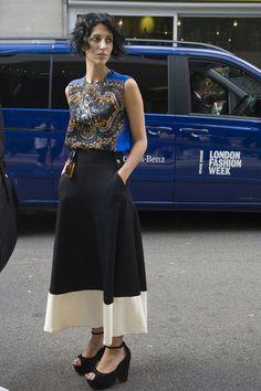 Yasmin Sewell: London Fashion Week Spring 2013