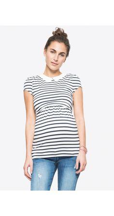 a4cc2887c ENVIE DE FRAISE - CLOTHILDE - Camiseta premamá