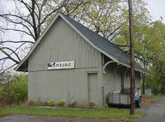 Old Train Station moved to the Sawyer Farm on M-36