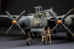1-32 Scale P-61A By Modeler Bodo Cordes