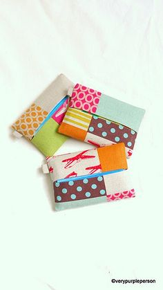 Tissue cases by verypurpleperson, via Flickr