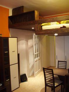 Vestavěné patro Kopečná / high bed High Beds, Loft, Furniture, Home Decor, Raised Beds, Decoration Home, Room Decor, Loft Beds, Lit Mezzanine