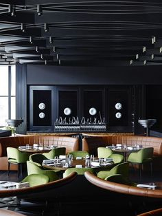 Dinner by Heston Blumenthal / Bates Smart | Exclusive restaurants design. Luxury restaurants.Elegant interiors. For more inspirational news take a look at: www.bocadolobo.com