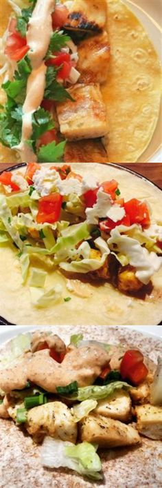 Grilled Fish Tacos with Chipotle-Lime Dressing Healthy Recipes - fish, grilled, healthy, recipes, tacos