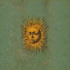 "An iconic illustration from Andrea de Pascalis' ""Alchemy: The Golden Art"" of an alchemist who has achieved illumination. Art And Illustration, Girl Illustrations, Art Soleil, Arte Inspo, Hippie Art, Hippie Life, Psychedelic Art, Grafik Design, Mellow Yellow"