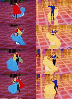 "The finale dance between Belle and the Prince is actually reused animation from the finale dance between Princess Aurora and Prince Phillip in Sleeping Beauty. ... 30 Things You Might Not Know About ""Beauty And The Beast"