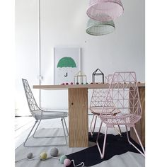 Gorgeous Wire Chairs
