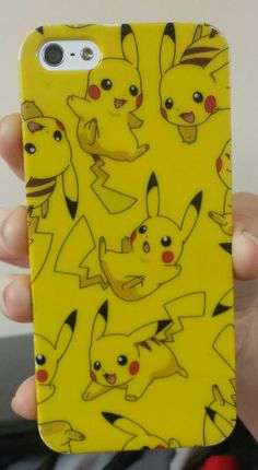 Yes. Yes this is my phone case. Pikachu rules. Pokemon for life. That is all.