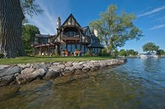 Tudor On The Point - traditional - Exterior - Minneapolis - Murphy & Co. Design