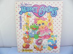 1988 Jim Henson's Muppet Babies Sticker Album , Vintage 1980's Panini Sticker Book , Kermit the Frog , Miss Piggy , The Muppets , Stickers by ShersBears on Etsy