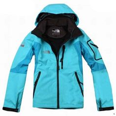 Womens The North Face Triclimate 3 In 1 Jacket Cyan