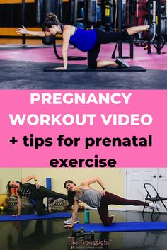 This is a prenatal workout video filled with safe exercise ideas for pregnancy! Pregnancy Workout Videos, Prenatal Workout, Prenatal Yoga, Happy Pregnancy, Yoga Pregnancy, Pregnancy Fitness, Pregnancy Belly, Baby Belly, Pregnancy Test