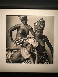 Three Dahomey Girls, One Reclining. Irving Penn, 1967