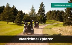 PEI has 33 stunning golf courses that will delight and challenge golfers of all skill levels. Prince Edward Island, New Brunswick, Golfers, Nova Scotia, Natural Wonders, Playground, Golf Courses, Heaven, Relax
