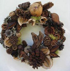 DIY Natural Wreaths- tutorials!