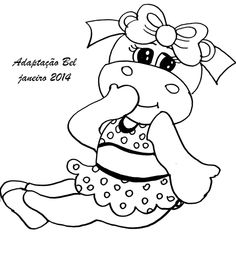 ; Vintage Embroidery, Embroidery Applique, Embroidery Patterns, Quilt Patterns, Colouring Pics, Coloring Book Pages, Coloring Pages For Kids, Cute Disney Drawings, Scrappy Quilts