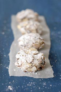 Cherry-Marzipan Cookies #glutenfree #grainfree #paleo
