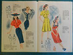 Sewing Patterns, Retro, Vintage, Vintage Comics, Patron De Couture, Retro Illustration, Dress Patterns