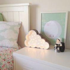 Petite Vegas Cloud Light by Fromage La Rue Inspiration For Kids, Room Inspiration, Vegas Lights, Adairs Kids, Cloud Lights, Marquee Lights, Light Letters, Kids Lighting, Man Room