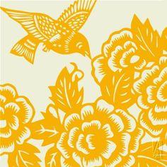 Another Thomas Paul Aviary fabric
