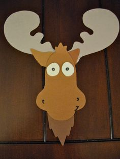Fun craft idea for Camp Moose on the Loose VBS. Fun craft idea for Camp Moose on the Loose VBS. Moose Crafts, Vbs Crafts, Preschool Crafts, Crafts For Kids, Paper Crafts, Diy Paper, Forest Animals, Woodland Animals, Arctic Animals