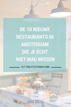 10 nieuwe restaurants en hotspots in Amsterdam je die écht niet mag missen! Met Sir Hummus, Coffee & Coconuts, Eddy Spaghetti, Nevel, O Mai en Guts & Glory