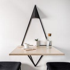 Floating Nightstand, Mirror, Table, Furniture, Design, Home Decor, Room Decor, Mirrors, Design Comics