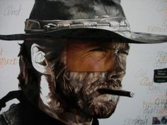 Clint Eastwood par Natacha Toutain
